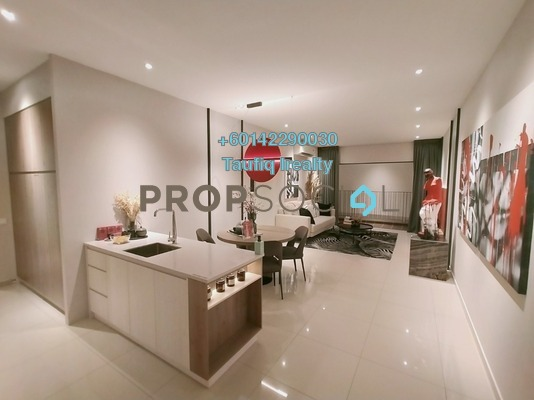 Serviced Residence For Sale in Empire City, Damansara Perdana Leasehold Unfurnished 4R/2B 624k