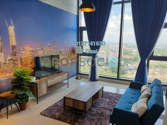 Condominium For Sale in Bora Residences, Danga Bay Freehold Fully Furnished 1R/2B 750k