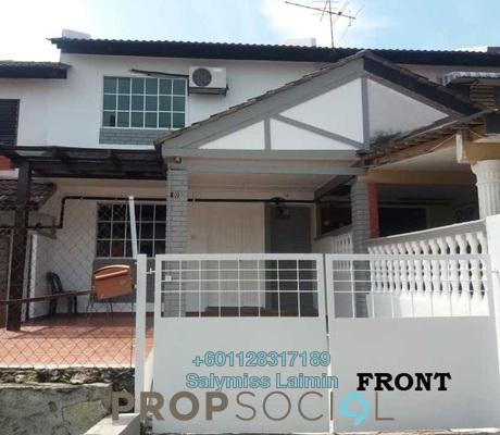 Terrace For Sale in Taman Kantan Permai, Kajang Freehold Semi Furnished 3R/2B 355k
