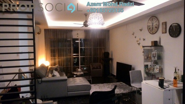 Condominium For Sale in Hartamas Regency 2, Dutamas Freehold Fully Furnished 4R/4B 990k