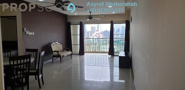 Condominium For Rent in Ampang Putra Residency, Ampang Freehold Fully Furnished 3R/2B 1.7k