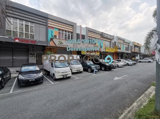 Shop For Sale in Taman Dato Chellam, Ulu Tiram Freehold Unfurnished 0R/0B 650k