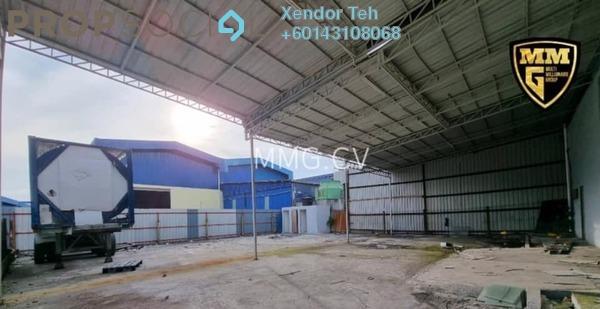 Factory For Sale in Pulau Indah Industrial Park, Port Klang Freehold Unfurnished 0R/0B 3.3m