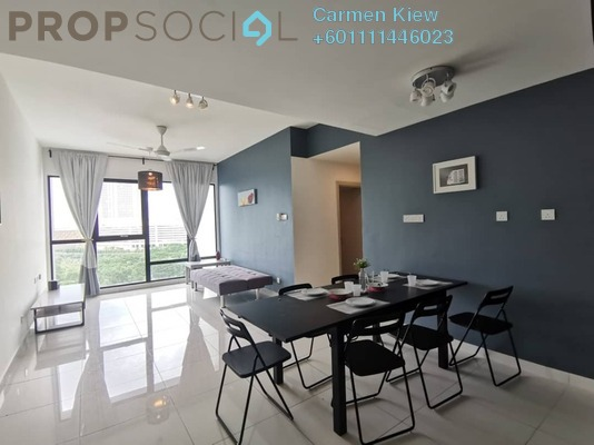 Serviced Residence For Rent in SouthKey Mosaic @ SouthKey, Johor Bahru Freehold Fully Furnished 2R/2B 1.3k