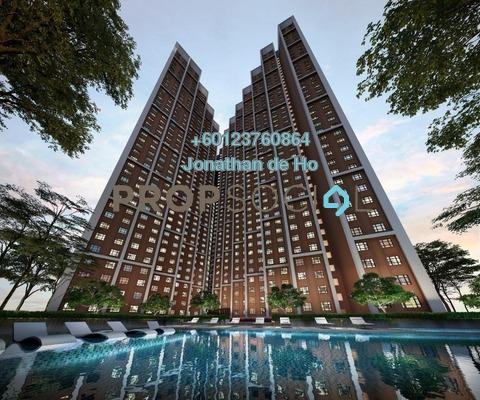 Condominium For Sale in D'Vine Residences, Central Park Damansara Freehold Unfurnished 2R/1B 270k