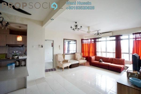 Apartment For Sale in Mutiara Anggerik, Shah Alam Leasehold Semi Furnished 4R/2B 390k