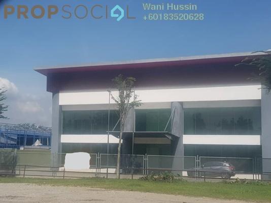 Factory For Rent in Bukit Kemuning Industrial Park, Kota Kemuning Freehold Semi Furnished 0R/0B 85k