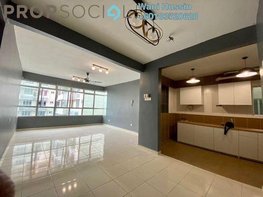 Condominium For Sale in Mutiara Anggerik, Shah Alam Freehold Semi Furnished 4R/2B 390k