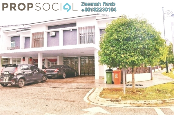 Terrace For Sale in Precinct 11, Putrajaya Freehold Semi Furnished 5R/6B 1.7m