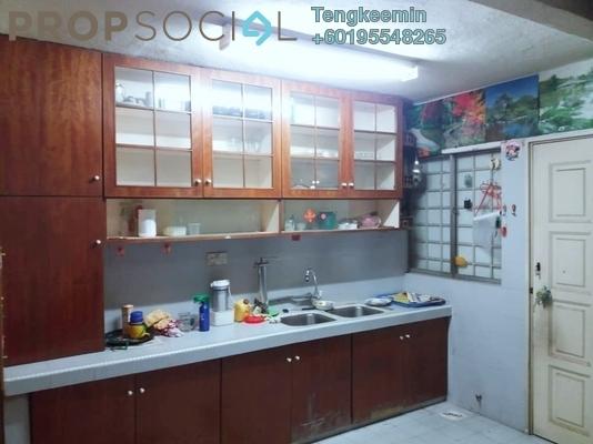 Terrace For Sale in Taman Sri Sinar, Segambut Freehold Semi Furnished 3R/2B 425k