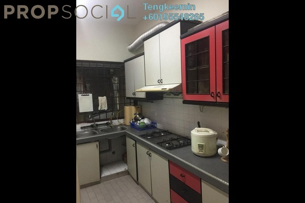 Terrace For Sale in Taman Daya, Kepong Leasehold Semi Furnished 4R/2B 660k