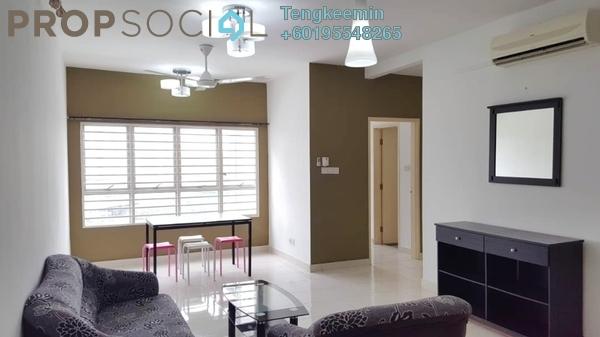 Condominium For Rent in Viva Residency, Sentul Freehold Semi Furnished 2R/2B 1.4k