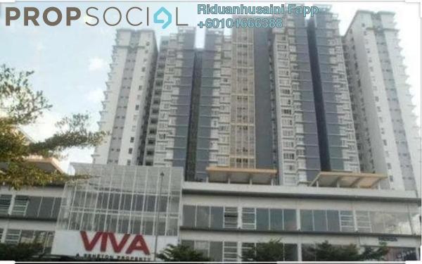 Condominium For Rent in Viva Residency, Sentul Freehold Fully Furnished 3R/2B 1.8k