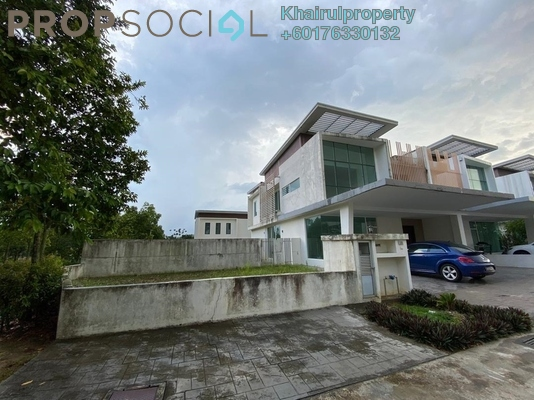 Semi-Detached For Sale in Garden Residence, Cyberjaya Freehold Unfurnished 5R/5B 1.6m
