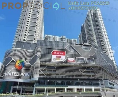 Condominium For Rent in United Point Residence, Segambut Freehold Unfurnished 3R/2B 1.3k