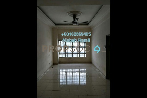 Apartment For Rent in Dataran Otomobil, Shah Alam Freehold Unfurnished 3R/2B 1.1k