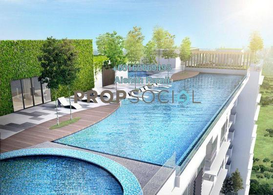 Condominium For Sale in Eclipse Residence @ Pan'gaea, Cyberjaya Freehold Unfurnished 3R/2B 750k