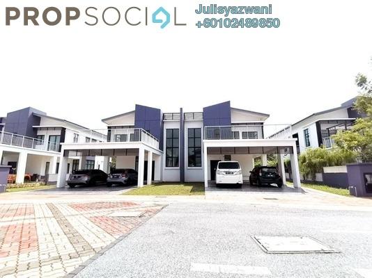 Semi-Detached For Sale in Opus @ Lake Vicinity, Cyberjaya Freehold Unfurnished 5R/4B 1.6m