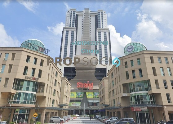 Condominium For Sale in Encorp Strand Residences, Kota Damansara Freehold Unfurnished 1R/1B 362k