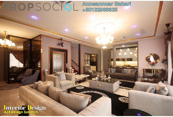 Bungalow For Sale in Garden Residence, Cyberjaya Freehold Semi Furnished 10R/9B 3.9m