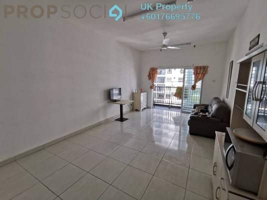 Serviced Residence For Rent in BSP 21, Bandar Saujana Putra Freehold Fully Furnished 1R/1B 1.1k