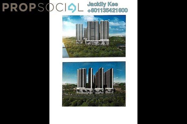 Condominium For Sale in Razak City Residences, Sungai Besi Freehold Fully Furnished 3R/3B 450k