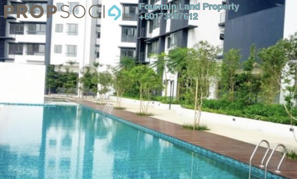 Serviced Residence For Sale in 8 Kinrara, Bandar Kinrara Freehold Semi Furnished 3R/2B 625k