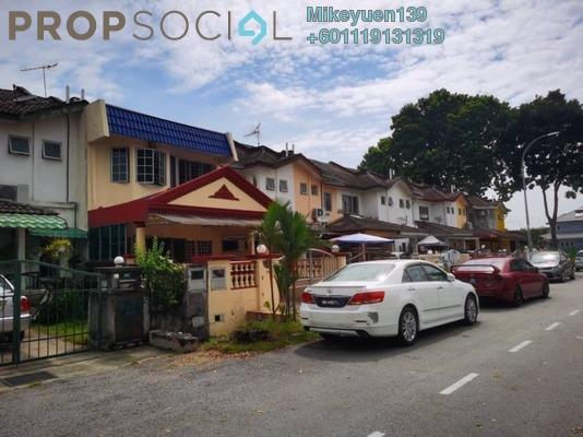 Terrace For Rent in BP10, Bandar Bukit Puchong Freehold Semi Furnished 4R/3B 1.5k