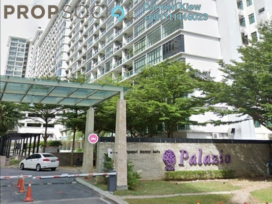 Serviced Residence For Rent in Palazio, Tebrau Freehold Fully Furnished 0R/1B 800translationmissing:en.pricing.unit