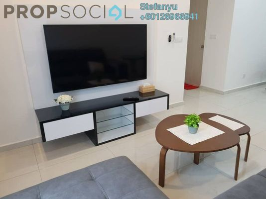 Serviced Residence For Rent in Havona, Tebrau Freehold Fully Furnished 2R/2B 1.7k