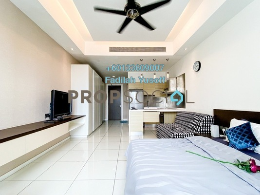 Condominium For Sale in M Suites, Ampang Hilir Freehold Fully Furnished 1R/1B 575k