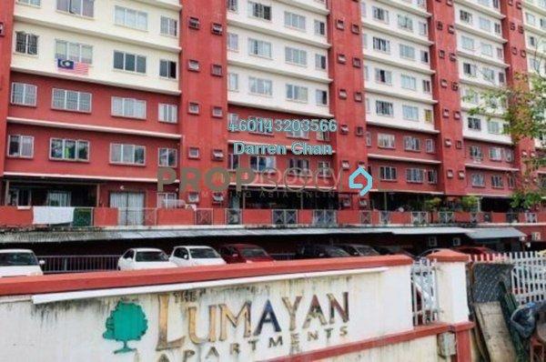Apartment For Rent in The Lumayan, Bandar Sri Permaisuri Freehold Unfurnished 3R/2B 1.2k