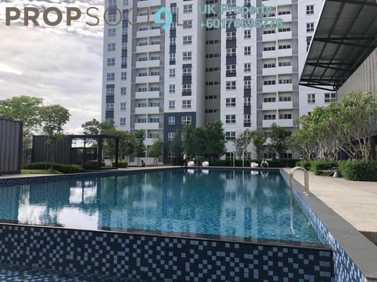 Apartment For Rent in Aman 1, Tropicana Aman Freehold Semi Furnished 2R/2B 1.3k
