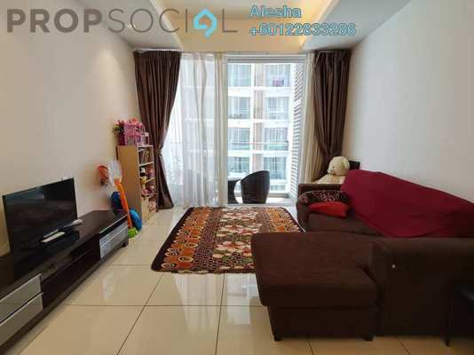 Serviced Residence For Sale in M Suites, Ampang Hilir Freehold Unfurnished 1R/2B 700k