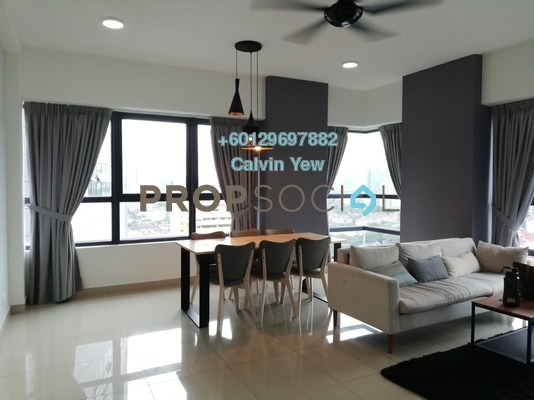 Condominium For Sale in Arte +, Jalan Ampang Freehold Fully Furnished 3R/2B 630k