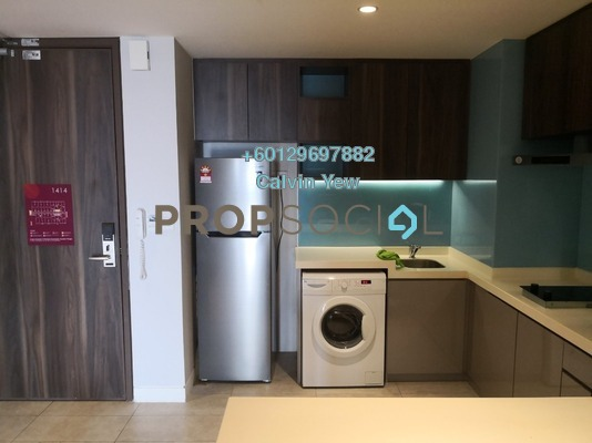 Serviced Residence For Sale in D'Majestic, Pudu Freehold Fully Furnished 1R/1B 640k