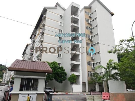 Condominium For Sale in Tiara Hatamas, Cheras Freehold Semi Furnished 3R/2B 350k