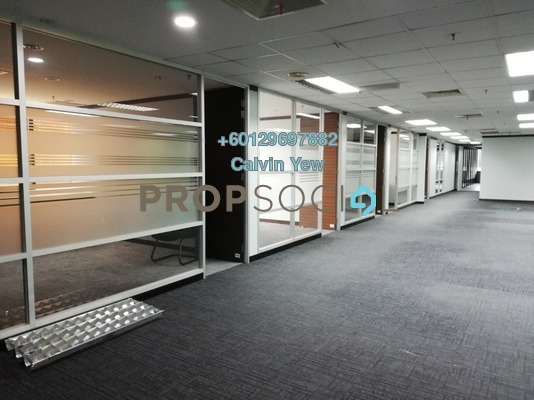 Office For Rent in Wisma Chinese Chamber, Ampang Hilir Freehold Semi Furnished 0R/0B 59k