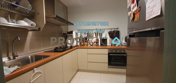 Condominium For Sale in KL Palace Court, Kuchai Lama Freehold Fully Furnished 2R/2B 500k