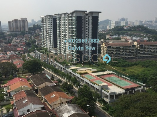 Condominium For Sale in KL Palace Court, Kuchai Lama Freehold Semi Furnished 2R/2B 530k