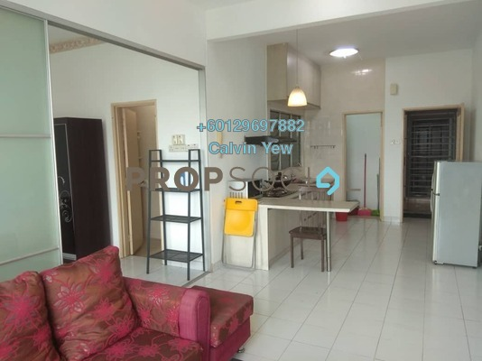 Condominium For Rent in Casa Tiara, Subang Jaya Freehold Fully Furnished 1R/1B 1.5k