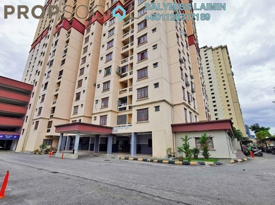 Apartment For Sale in Permai Putera, Ampang Freehold Fully Furnished 3R/2B 340k