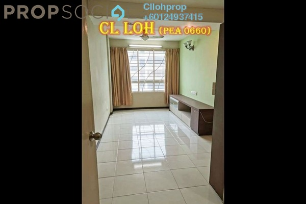 Apartment For Sale in Taman Kheng Tian, Jelutong Freehold Semi Furnished 3R/2B 330k