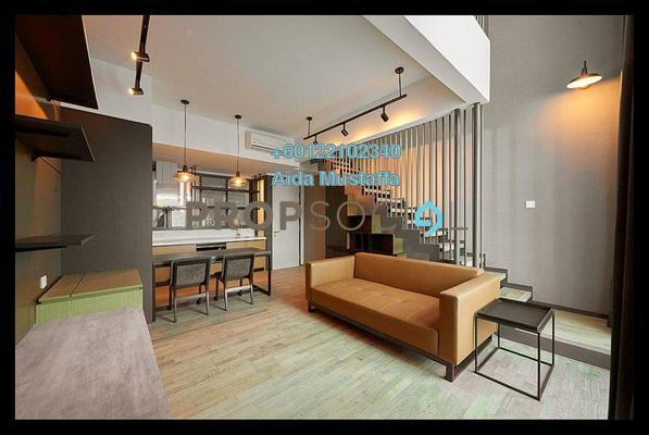 Condominium For Rent in TWY Mont Kiara, Mont Kiara Freehold Fully Furnished 1R/1B 2.7k