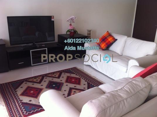 Condominium For Rent in The Plaza Condominium, TTDI Freehold Fully Furnished 3R/4B 4.2k
