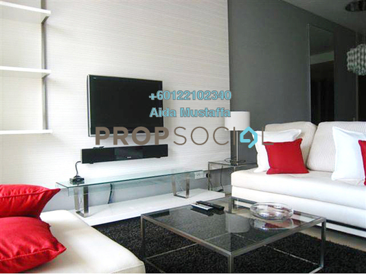 Serviced Residence For Rent in Marc Service Residence, KLCC Freehold Fully Furnished 2R/2B 5.5k