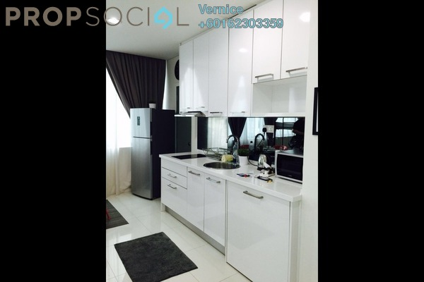 Condominium For Sale in Summer Suites, KLCC Freehold Fully Furnished 1R/1B 638k