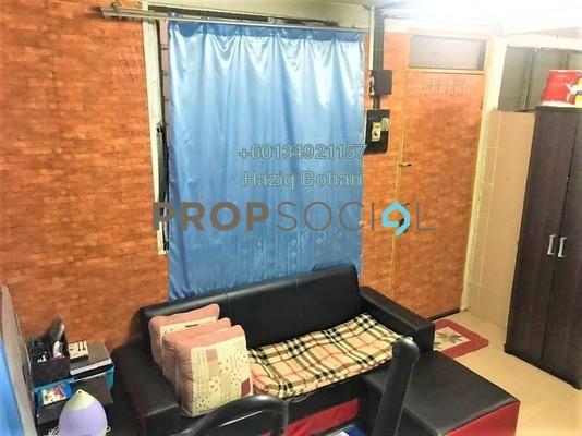 Terrace For Sale in Taman Setapak Jaya, Setapak Freehold Semi Furnished 2R/1B 190k