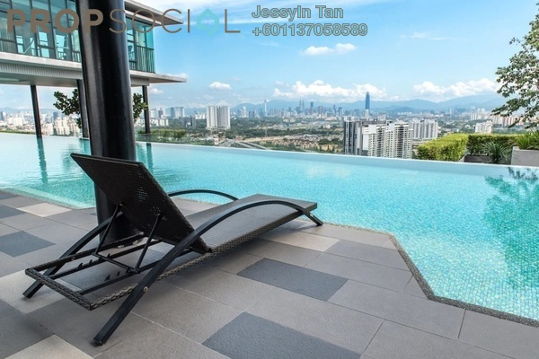 Condominium For Sale in The Leafz, Sungai Besi Freehold Fully Furnished 2R/2B 630k