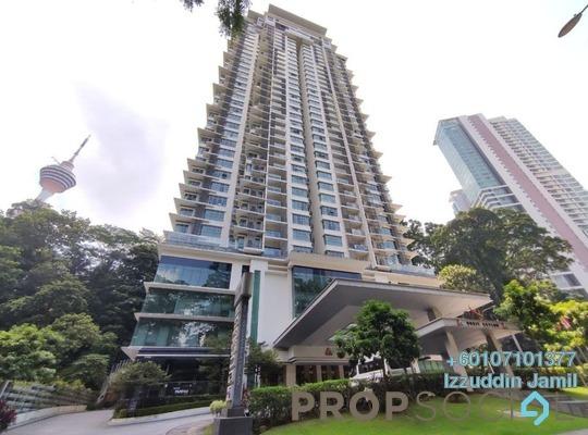 Serviced Residence For Sale in Suasana Bukit Ceylon, Bukit Ceylon Freehold Fully Furnished 1R/1B 915k